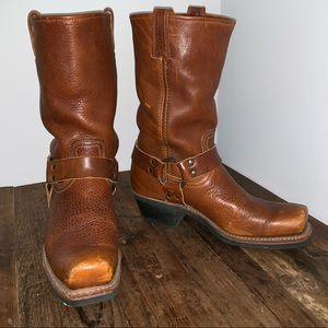 Women's Frye Harness Motorcycle Western Boots
